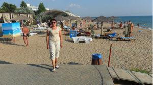 побережье песочного пляжа