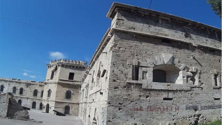 становление города крепости