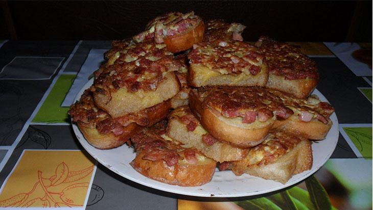 Приготовленные бутерброды