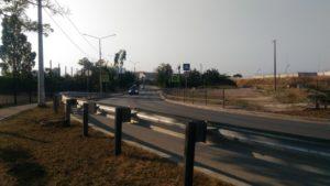 я писал о ремонте дороги
