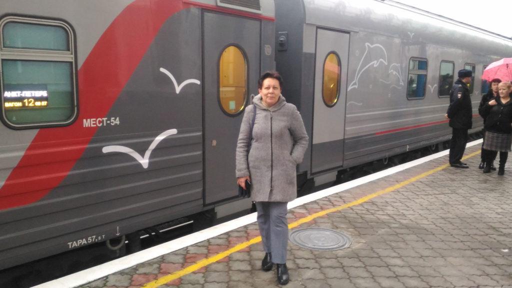 Первый поезд в Севастополь
