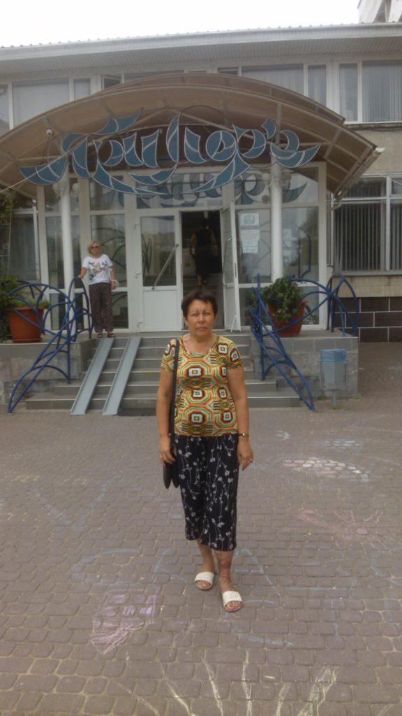 В санатории Приморье в Евпатории