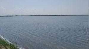 спустились к озеру