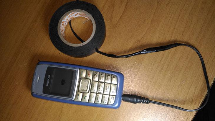 Зарядка мобильная, реставрация